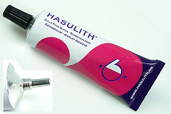 www.beadyourfashion.com - Hasulith adhesive for various materials 31ml