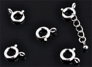 www.beadyourfashion.com - 925 Silver clasp (sterling silver) ± 12x10mm (hole ± 2mm)