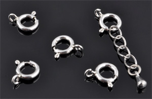 www.beadyourfashion.com - 925 Silver clasp (sterling silver) ± 10x9mm (hole ± 1,5mm)