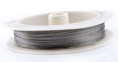 www.beadyourfashion.com - Steel wire ± 0,30mm (roll ± 60 metre)