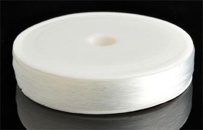 www.beadyourfashion.com - Nylon wire (fish line) ± 0,40mm (roll ± 90 metre)