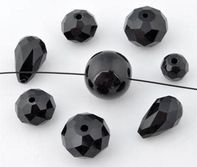 www.beadyourfashion.com - Mix glass beads ± 5-28mm (± 10-25 pcs.) (hole ± 1-2mm)