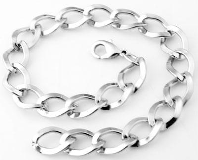www.beadyourfashion.nl - Metalen armbanden ± 25cm (schakel ± 17x13mm)