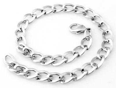 www.beadyourfashion.com - Metal bracelets ± 25cm (link ± 11x7mm)
