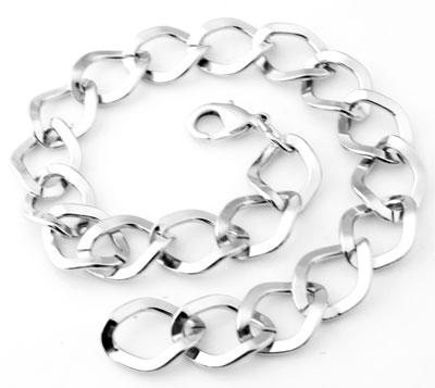 www.beadyourfashion.com - Metal bracelets ± 25cm (link ± 16x10mm)