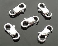 Metalen slotje/sluiting ± 11x6mm