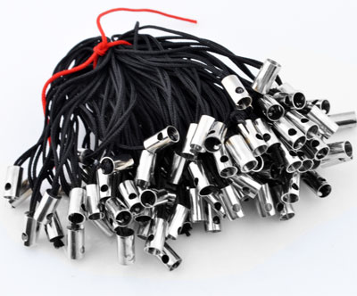 www.beadyourfashion.com - Textile mobile cord ± 55mm (hole ± 2mm)