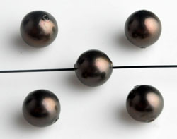 www.beadyourfashion.com - Mother of pearl beads round ± 6mm