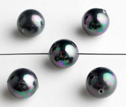 www.beadyourfashion.nl - Parelmoer parels rond met mooie glans ± 10mm