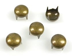 www.beadyourfashion.com - Metal studs round ± 6mm