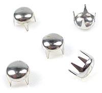 www.beadyourfashion.com - Metal studs round ± 4mm