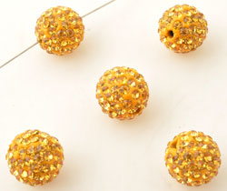 www.beadyourfashion.nl - Strass kraal rond ± 12mm (gat ± 2mm)