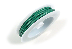 www.beadyourfashion.com - Wax cord ± 3,5 meter, ± 2mm thick