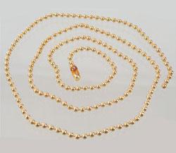 www.beadyourfashion.com - Metal necklace ± 60cm (link ± 2,5mm)