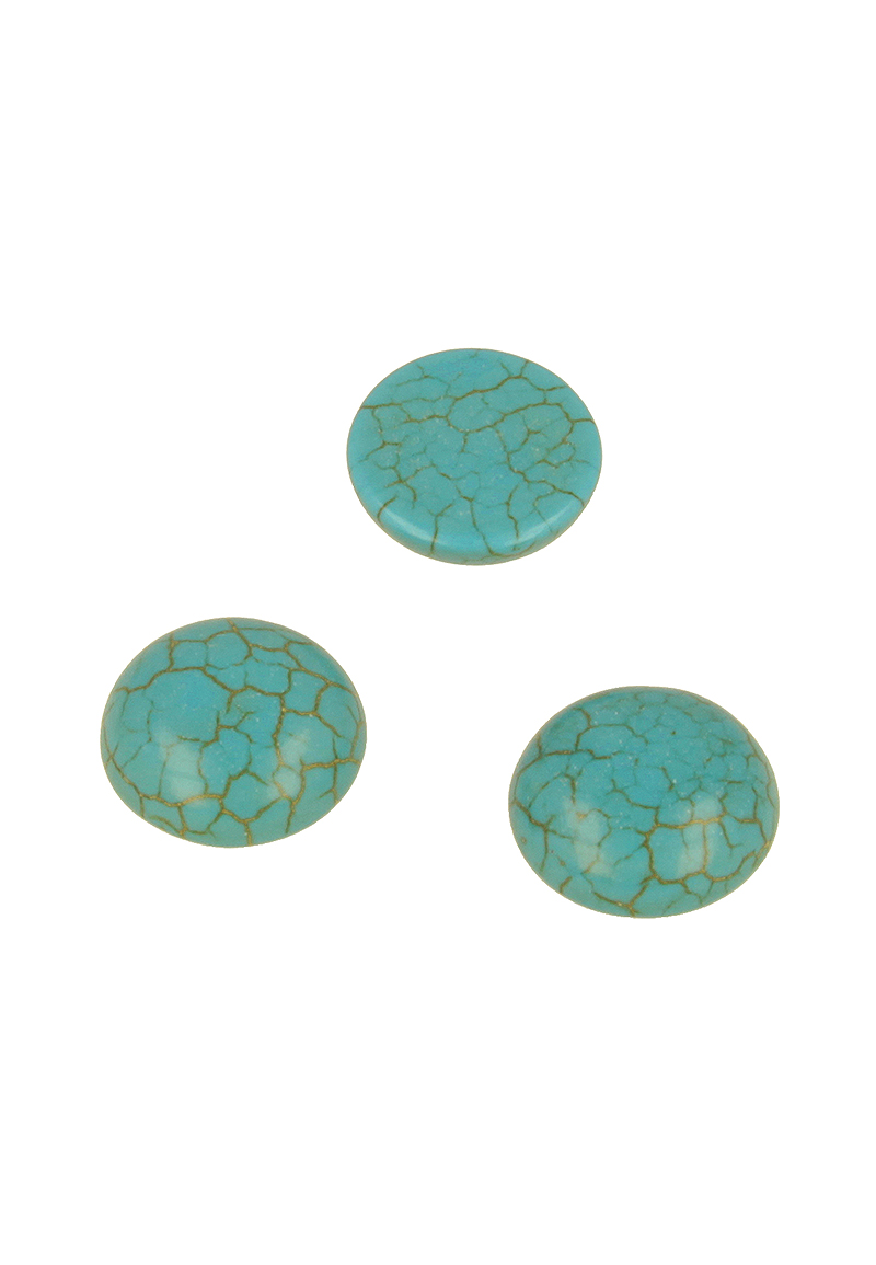 www.beadyourfashion.com - Natural stone flatback ± 18mm, 6mm thick (suitable for B02211)