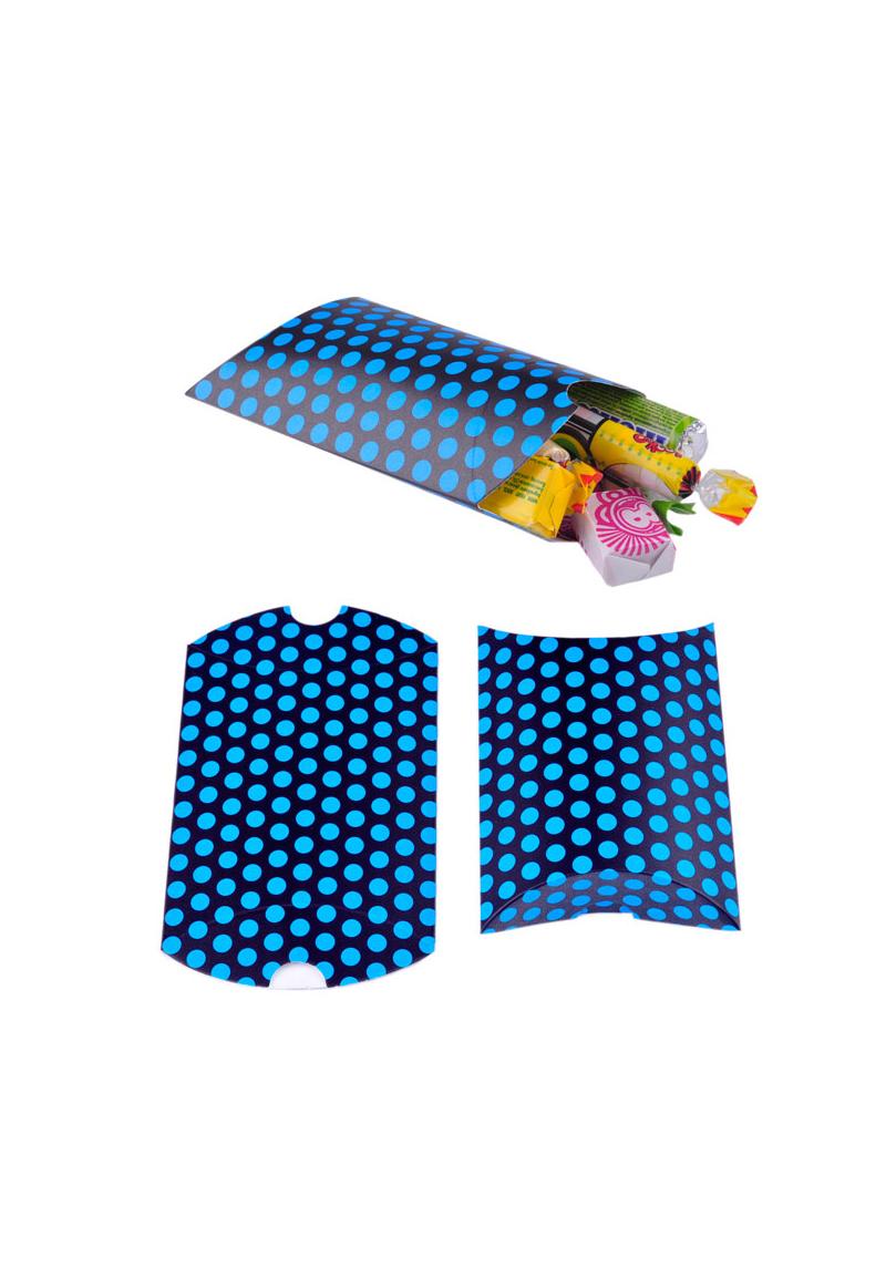 www.beadyourfashion.nl - Kartonnen cadeaudoosje met stippen ± 8,5x8,5cm