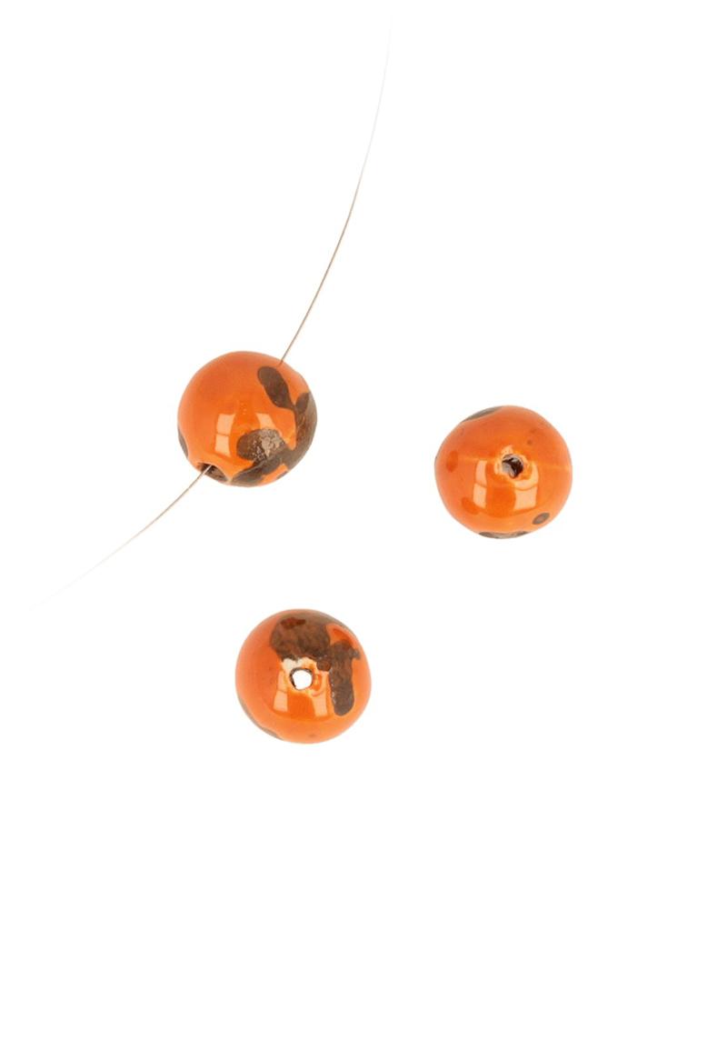 www.beadyourfashion.nl - Keramiek kraal ± 15,5mm (gat ± 2mm)
