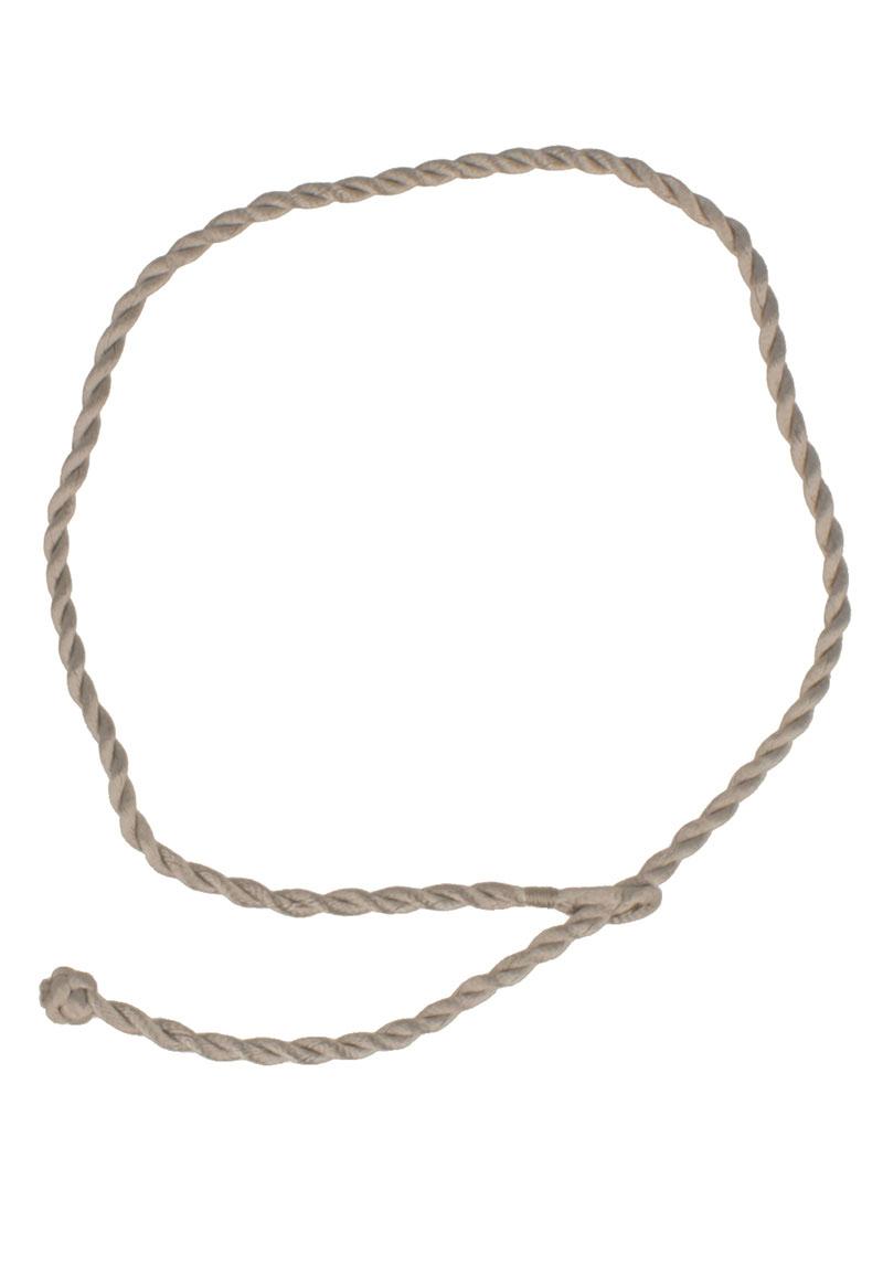 www.beadyourfashion.com - Silk cord twisted ± 38-43 cm, ± 3mm thick