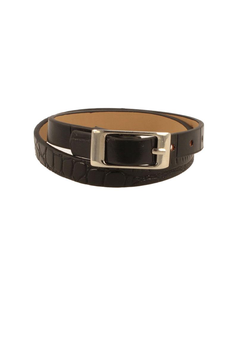 www.beadyourfashion.com - Imitation leather bracelet ± 43,5x1cm