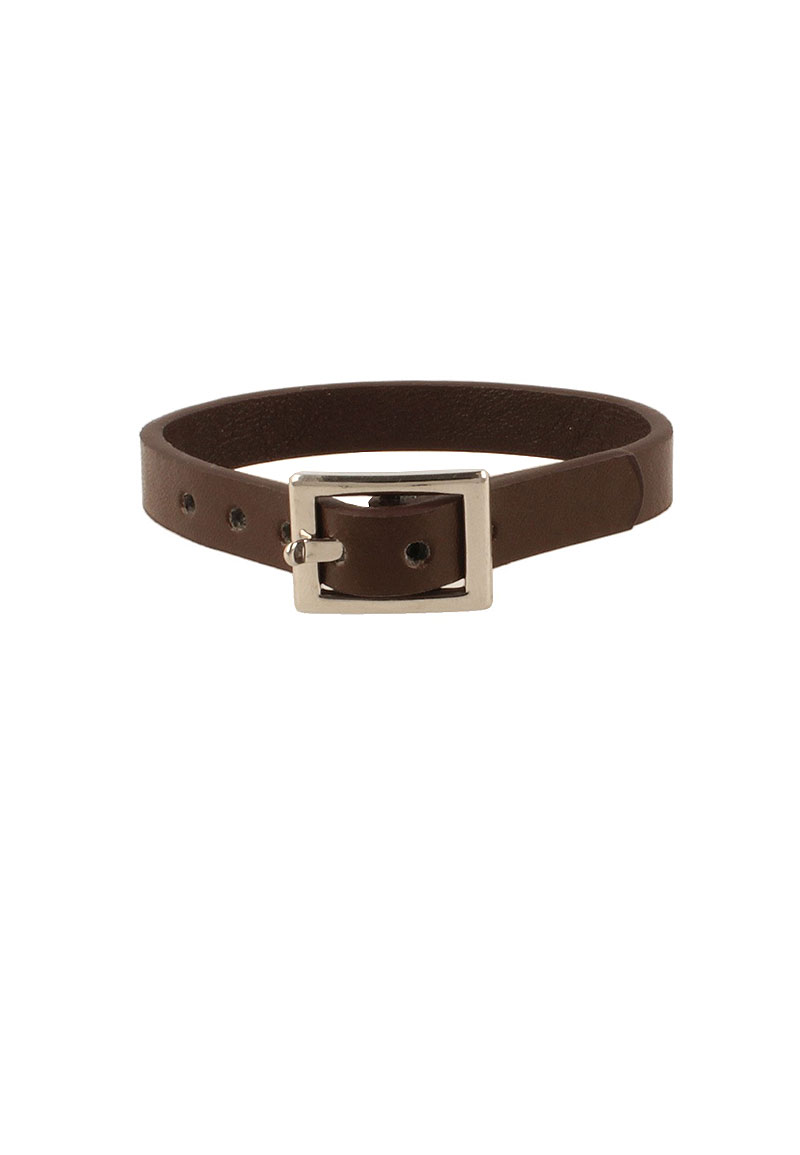 www.beadyourfashion.com - Imitation leather bracelet ± 24x1cm