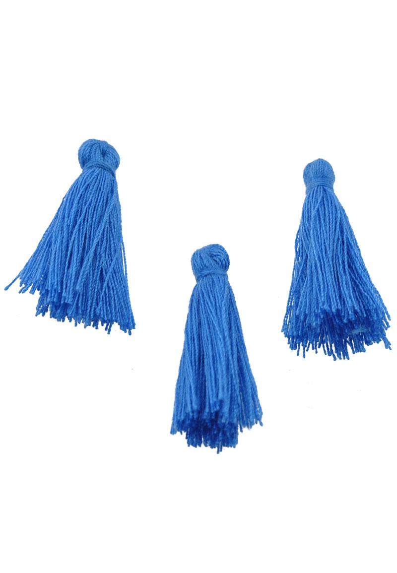 www.beadyourfashion.com - Textile tassel 45x20mm