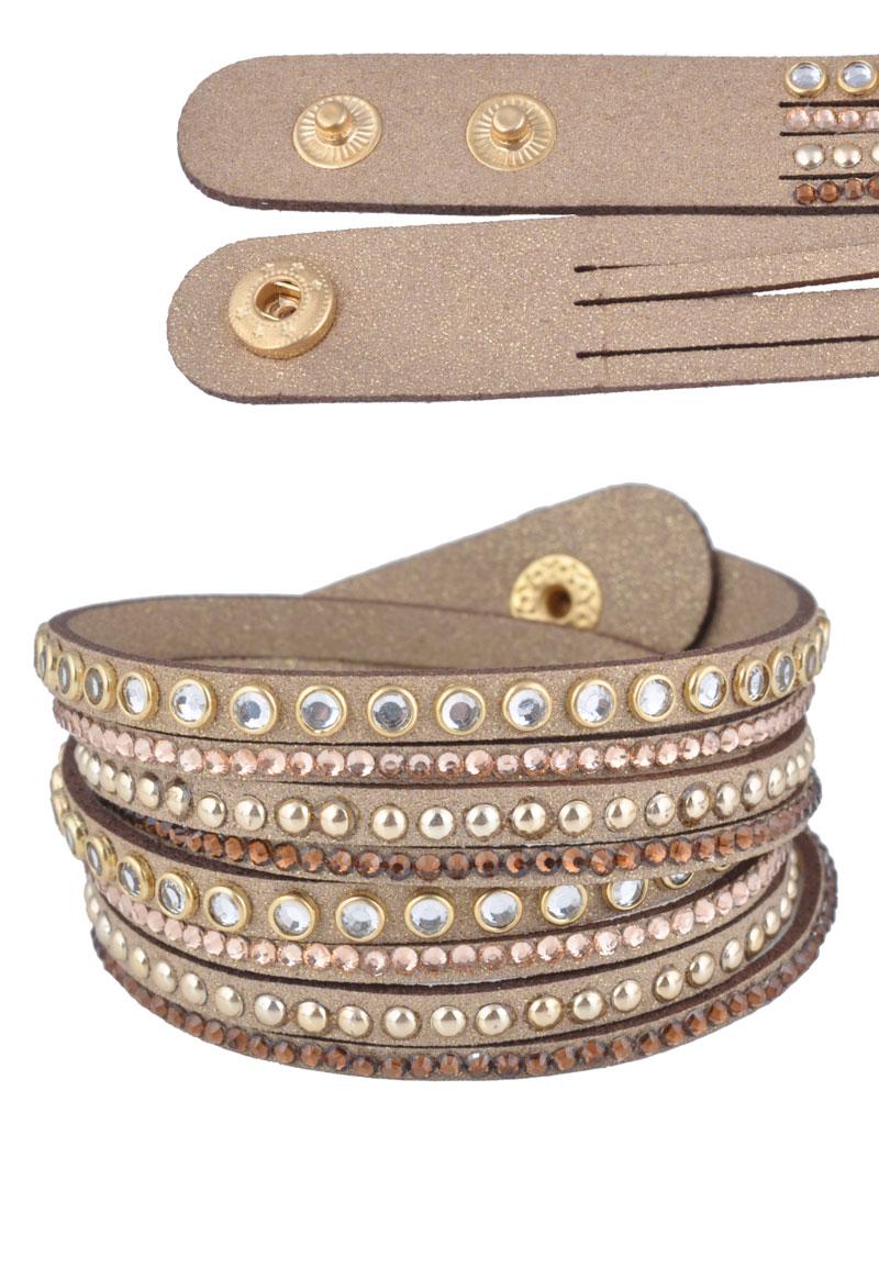 www.beadyourfashion.com - Wrap bracelet