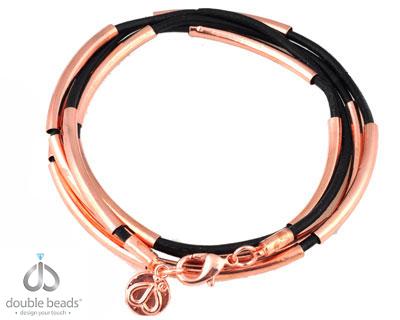 www.beadyourfashion.com - DoubleBeads Creation Mini Jewelry Kit wrap bracelet 76cm