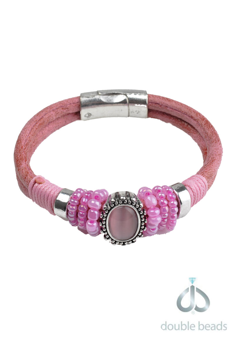 www.beadyourfashion.com - DoubleBeads Creation Mini Jewelry Kit bracelet