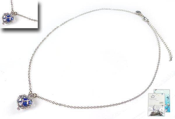 www.beadyourfashion.nl - DoubleBeads Mini Sieradenpakket halsketting ± 45cm met SWAROVSKI ELEMENTS kraal en diverse metalen accessoires (o.a. metalen hangers/bedels en metalen ketting)