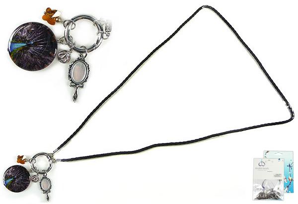 www.beadyourfashion.nl - DoubleBeads Mini Sieradenpakket EasyClip halsketting ± 80cm met SWAROVSKI ELEMENTS kralen, similisteen en diverse metalen accessoires