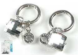 www.beadyourfashion.com - DoubleBeads Mini Jewelry Kit earrings ± 4cm with SWAROVSKI ELEMENTS Fancy Stones and various metal accessories