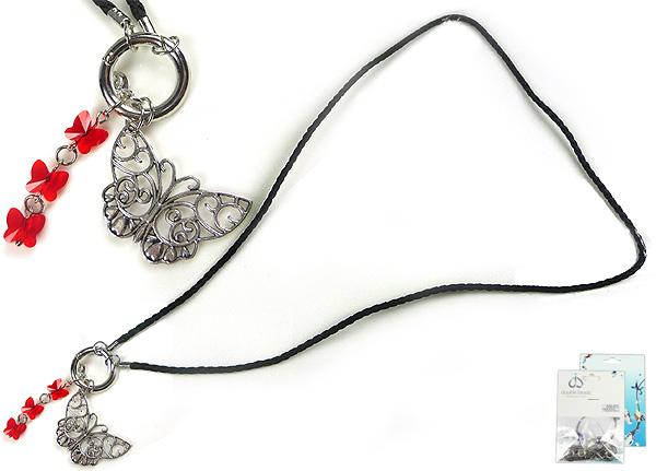 www.beadyourfashion.nl - DoubleBeads Mini Sieradenpakket EasyClip halsketting ± 80cm met SWAROVSKI ELEMENTS kralen en metalen hanger/bedel en accessoires