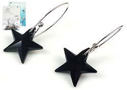 www.beadyourfashion.nl - DoubleBeads Mini Sieradenpakket 925 zilveren oorbellen ± 4cm met SWAROVSKI ELEMENTS hangers
