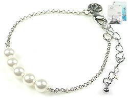www.beadyourfashion.nl - DoubleBeads Mini Sieradenpakket armband ± 16-21cm met SWAROVSKI ELEMENTS parels en diverse metalen accessoires