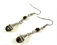 DoubleBeads Mini Jewelry Kit earrings ± 5cm with SWAROVSKI ELEMENTS beads and metal accessories