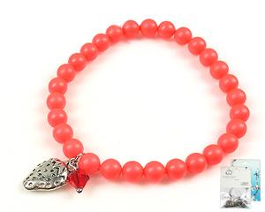 www.beadyourfashion.nl - DoubleBeads Mini Sieradenpakket armband rekbaar, binnenmaat ± 18cm met SWAROVSKI ELEMENTS parels, kraal en diverse metalen accessoires