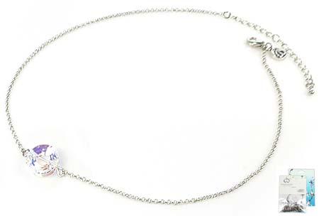 www.beadyourfashion.nl - DoubleBeads Mini Sieradenpakket halsketting ± 43-50cm SWAROVSKI ELEMENTS kraal en diverse metalen accessoires