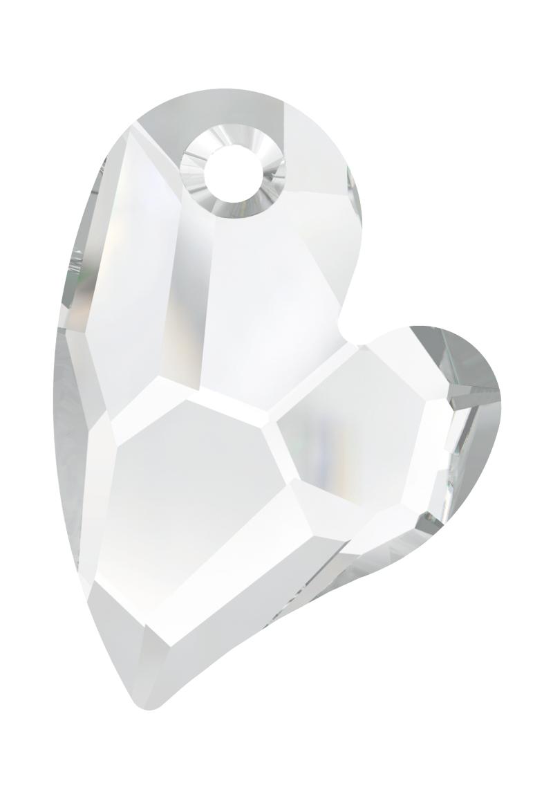 www.beadyourfashion.com - SWAROVSKI ELEMENTS pendant/charm 6261 heart, faceted
