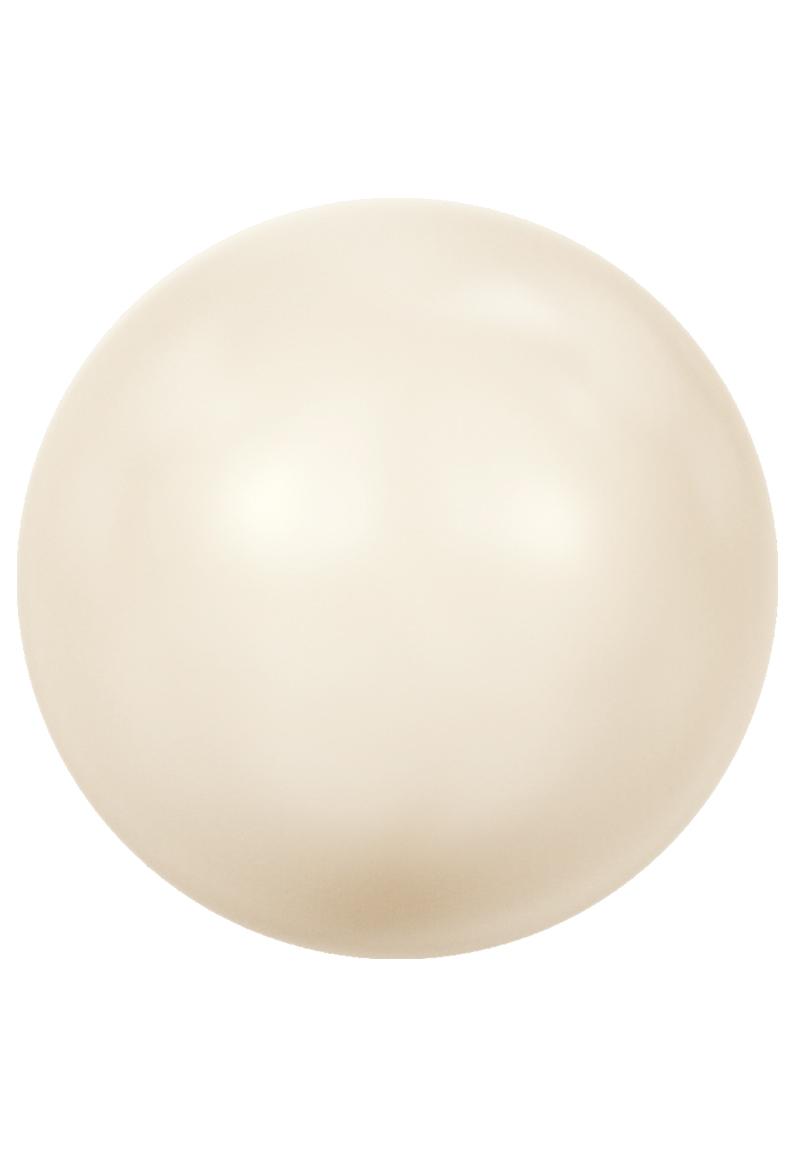 www.beadyourfashion.nl - SWAROVSKI ELEMENTS kraal 5810 Crystal Pearl rond 6mm
