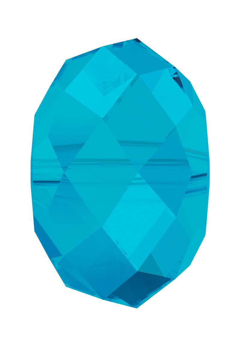 www.beadyourfashion.com - SWAROVSKI ELEMENTS bead 5040 'Briolette Bead' roundel faceted ± 6x4mm