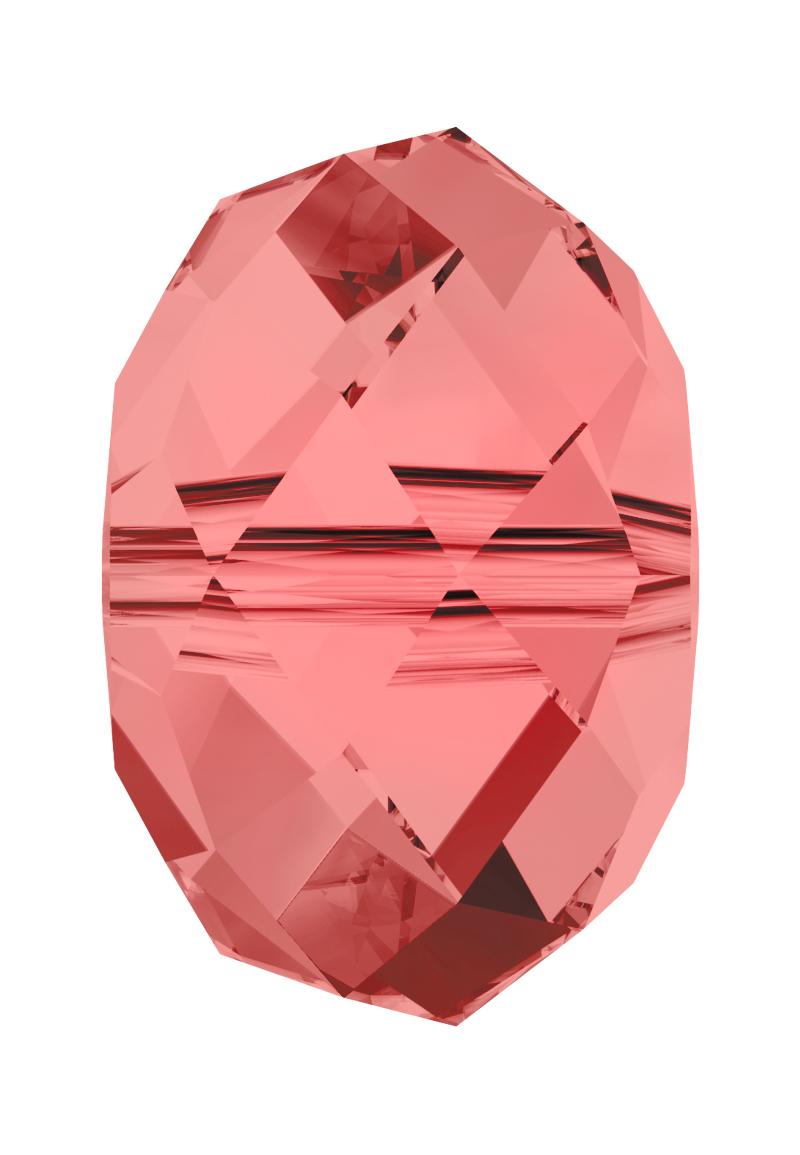 www.beadyourfashion.com - SWAROVSKI ELEMENTS bead 5040 'Briolette Bead' roundel faceted ± 8x5,5mm