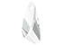 SWAROVSKI ELEMENTS pendant/charm 6690 'Wing Pendant' wing faceted ± 23x10mm