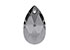 SWAROVSKI ELEMENTS pendant/charm 6106 Pear-shaped Pendant drop faceted ± 16x9,5mm, ± 5,5mm wide