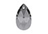 SWAROVSKI ELEMENTS pendant/charm 6106 Pear-shaped Pendant drop faceted ± 28x16,5mm, ± 10mm wide