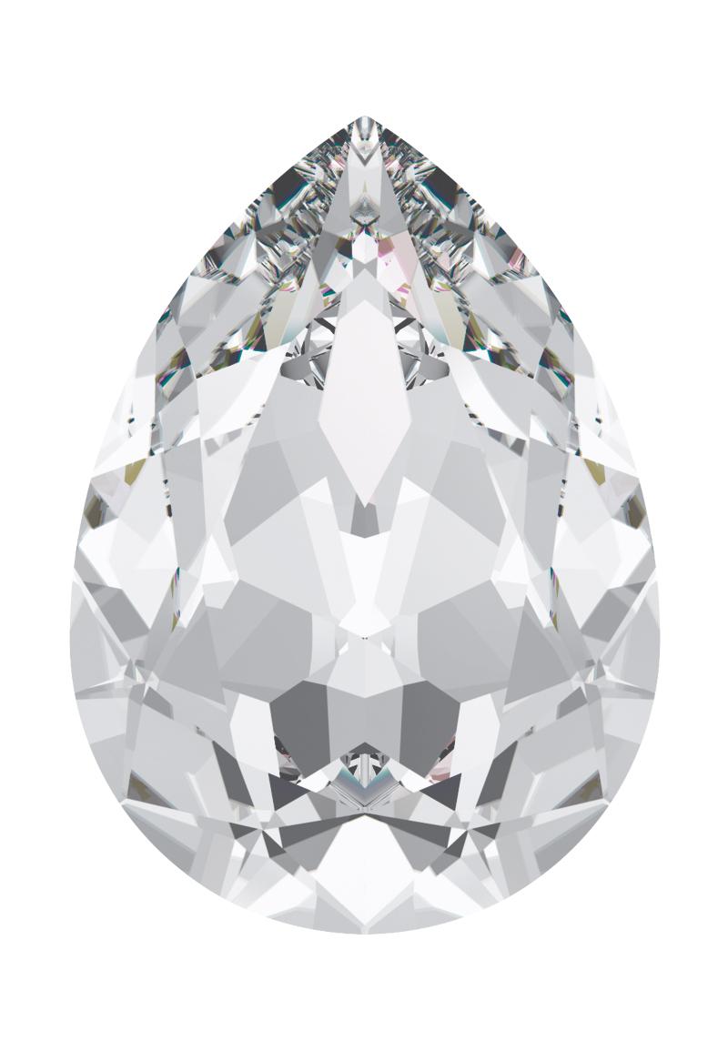 www.beadyourfashion.com - SWAROVSKI ELEMENTS Fancy Stone 4320 Pear Shaped drop 14x10mm