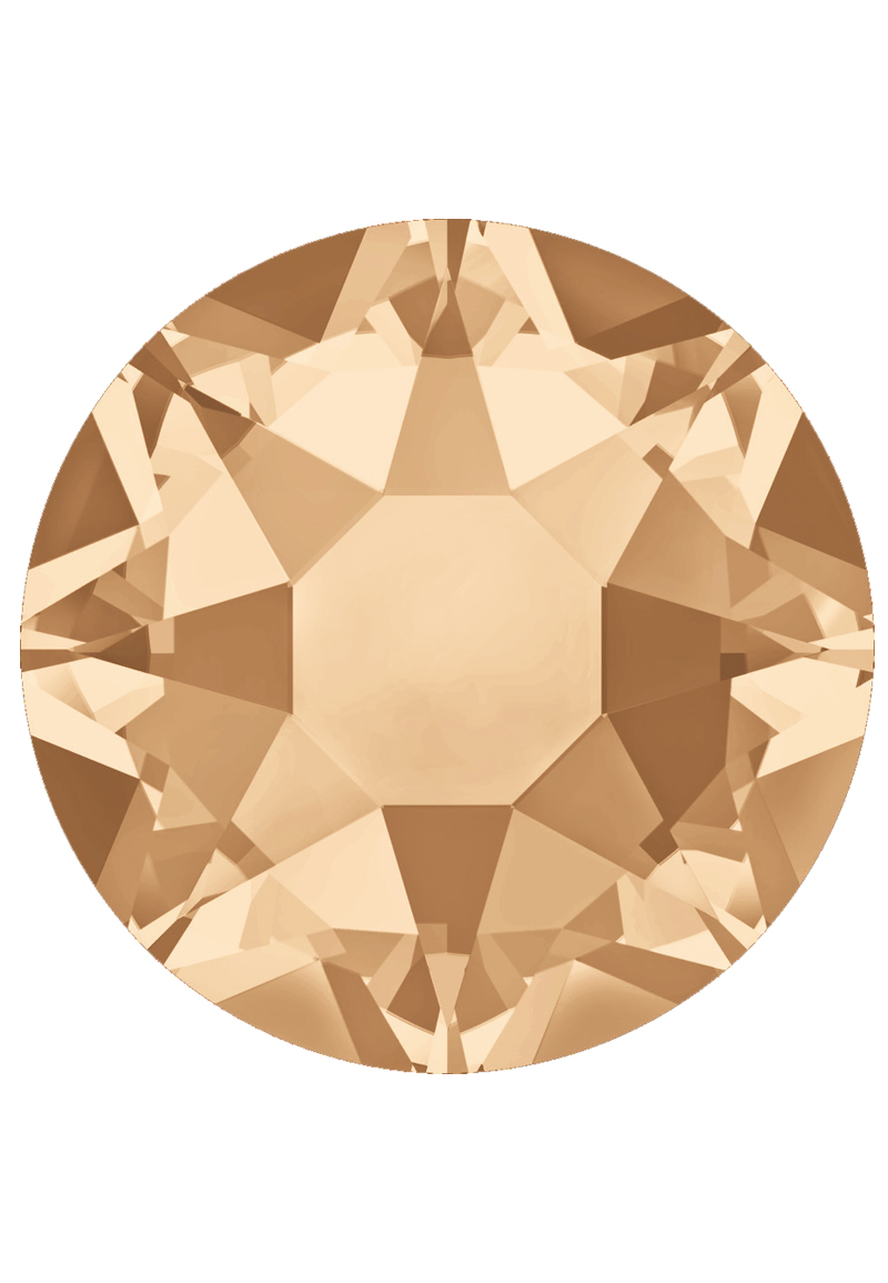 www.beadyourfashion.com - SWAROVSKI ELEMENTS flatback 2088 Xirius Rose Enhanced round SS12 3,1mm