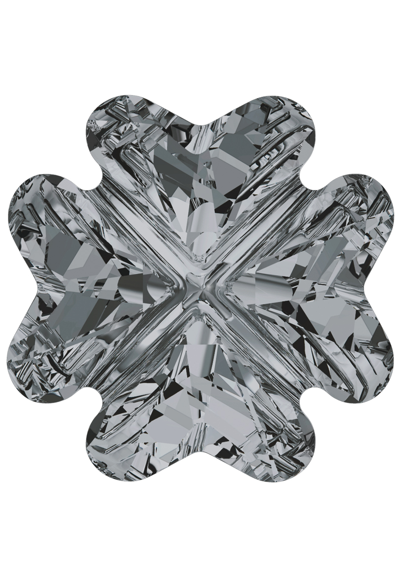 www.beadyourfashion.nl - SWAROVSKI ELEMENTS similisteen 4785 Clover Fancy Stone 14mm