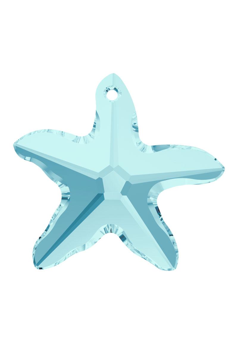 www.beadyourfashion.com - SWAROVSKI ELEMENTS pendant/charm 6721 Starfish Pendant 16mm