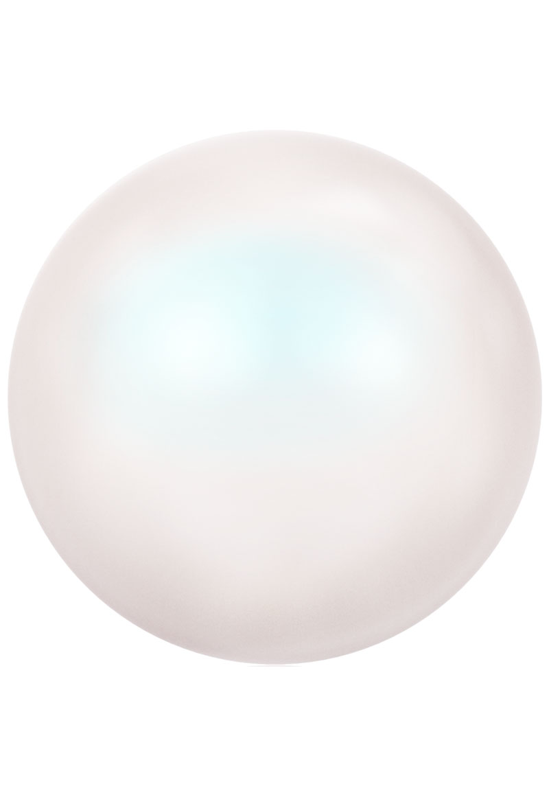 www.beadyourfashion.nl - SWAROVSKI ELEMENTS kralen 5810 Crystal Pearl rond 6mm