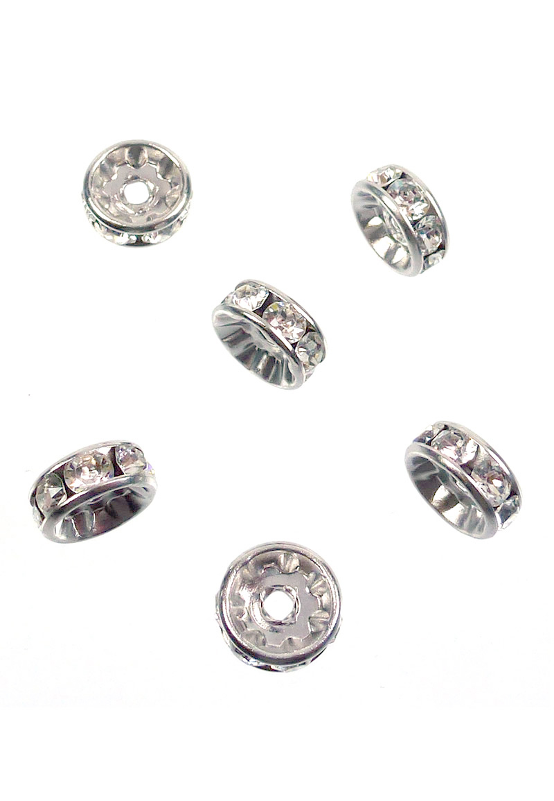 www.beadyourfashion.com - SWAROVSKI ELEMENTS strass beads 177508P24000 roundel 8mm